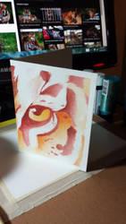 Tiger Eye Watercolor