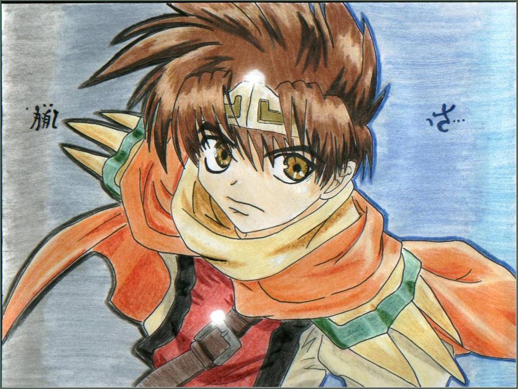 I'm Hungry::Son Goku by Mumyo-Jinpu-Ryu