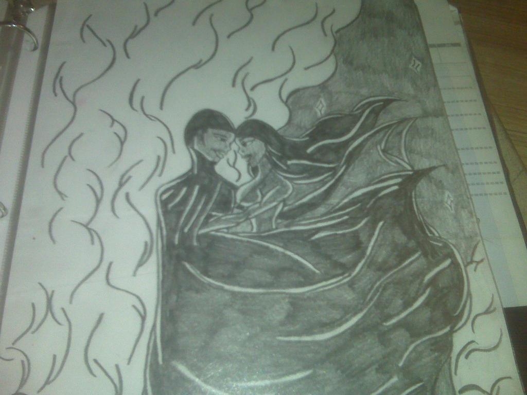 Swift Cat and Dark Phantom from my comic by sonofnight