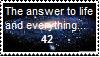 42 Stamp by pikachu205