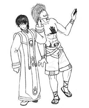 FFX no Go: Kaga and Tsutsui