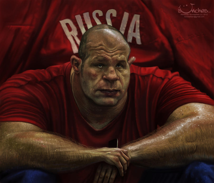 Fedor Emelianenko by creaturedesign