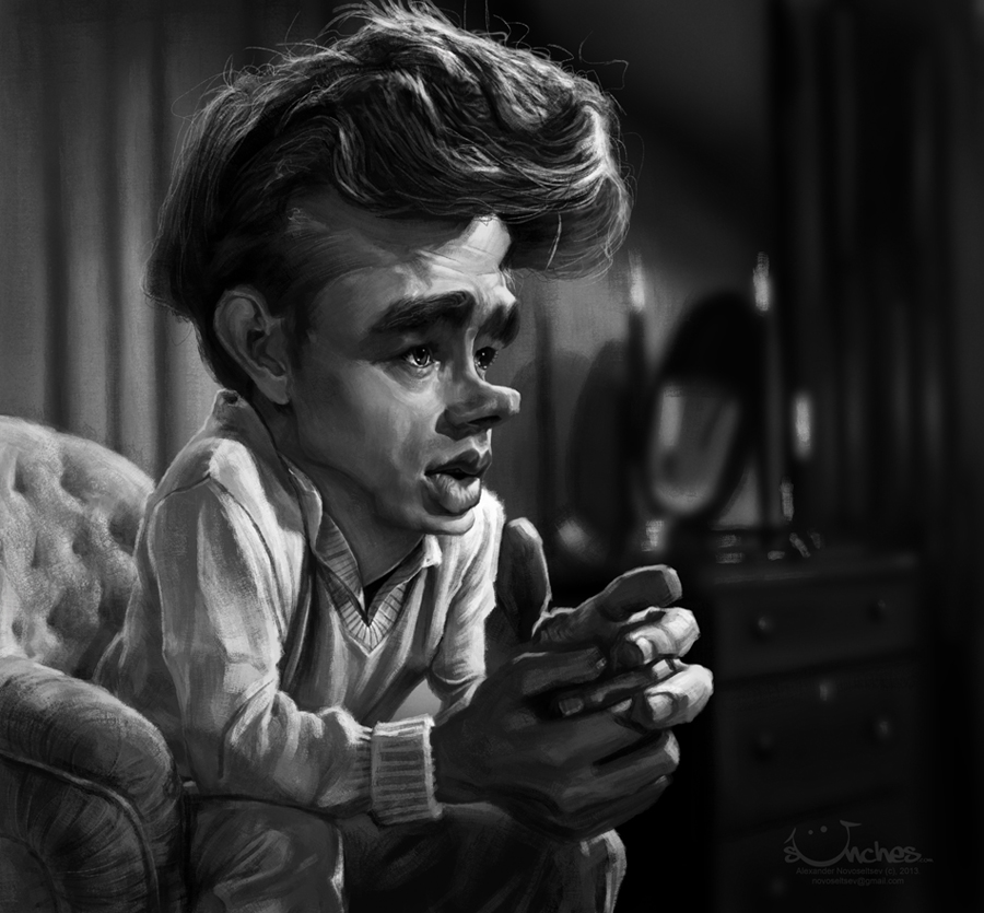 James Dean by creaturedesign
