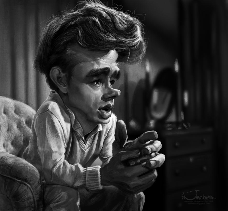James Dean by creaturedesign