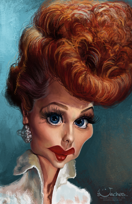 Lucille Ball by creaturedesign