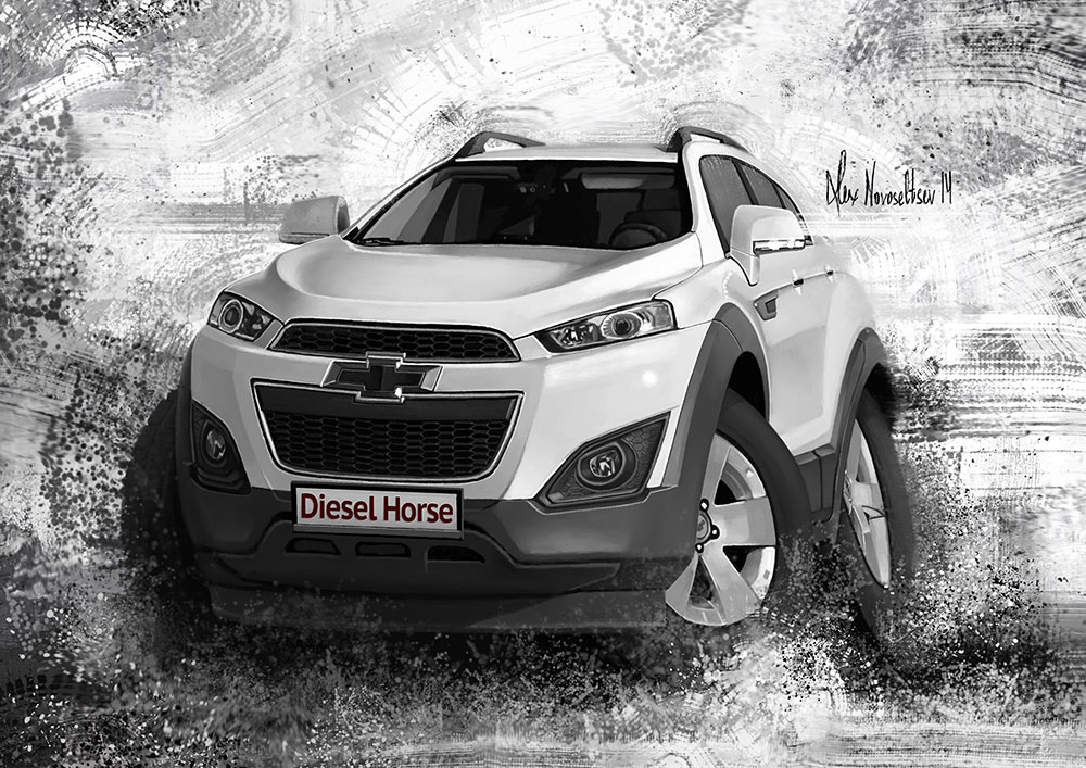 Chevrolet Captiva 2014 by creaturedesign