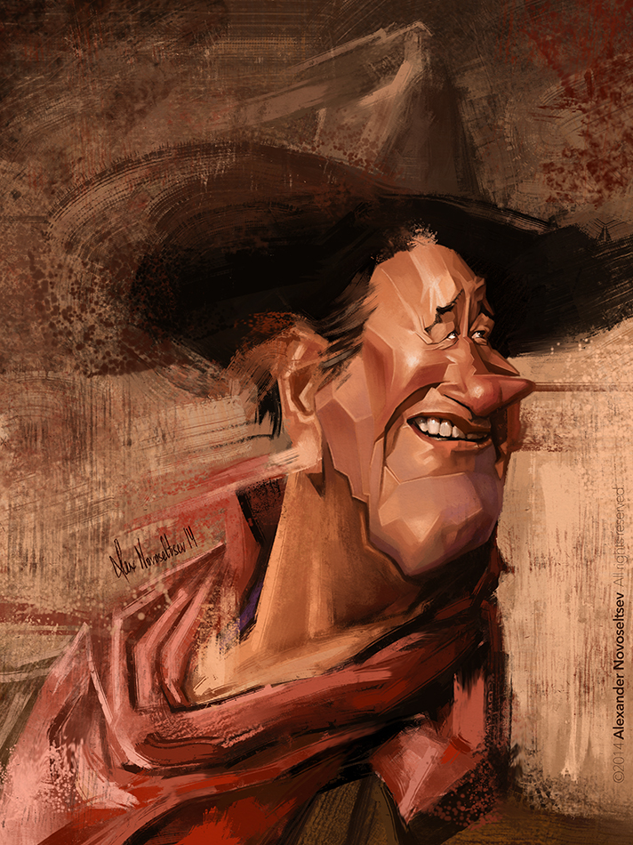 John Wayne by creaturedesign