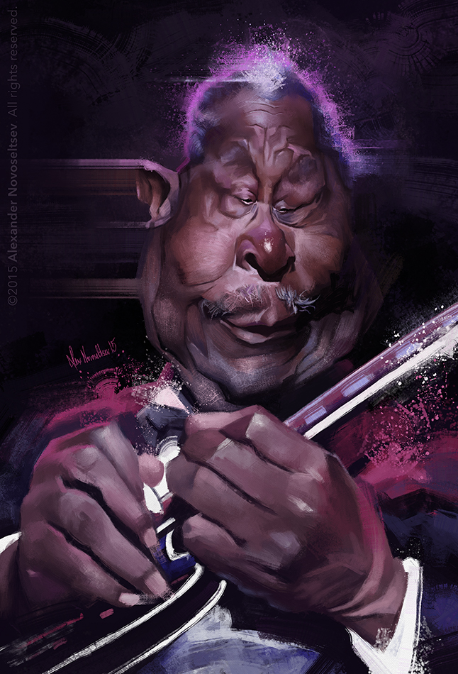 BB King by creaturedesign
