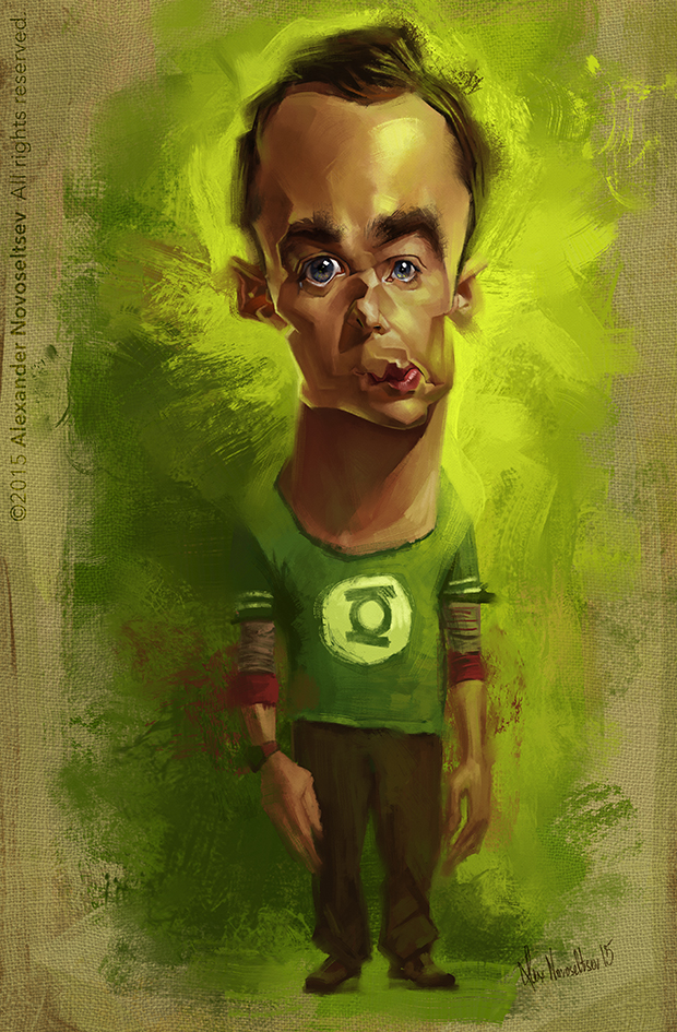 Sheldon Cooper by creaturedesign
