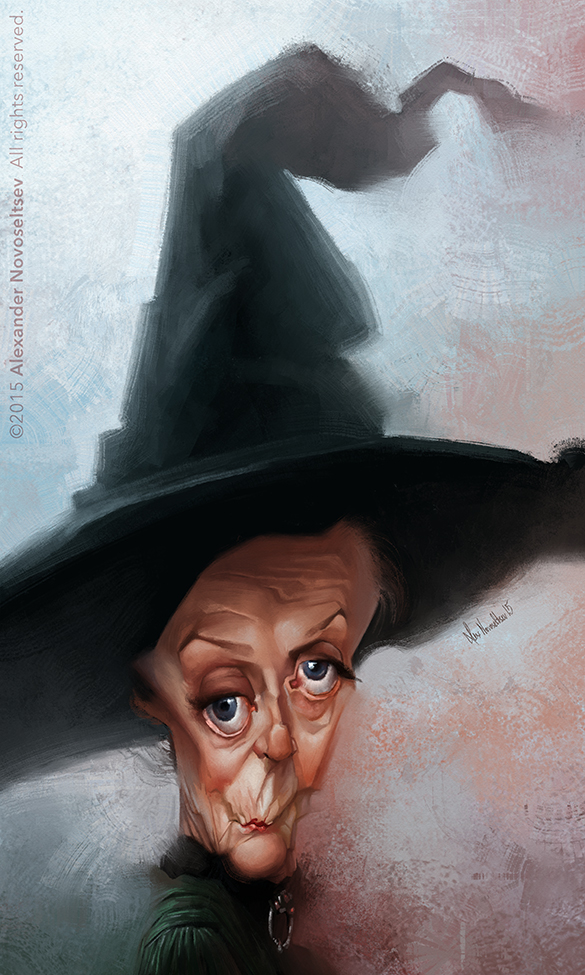 Dame Maggie Smith by creaturedesign