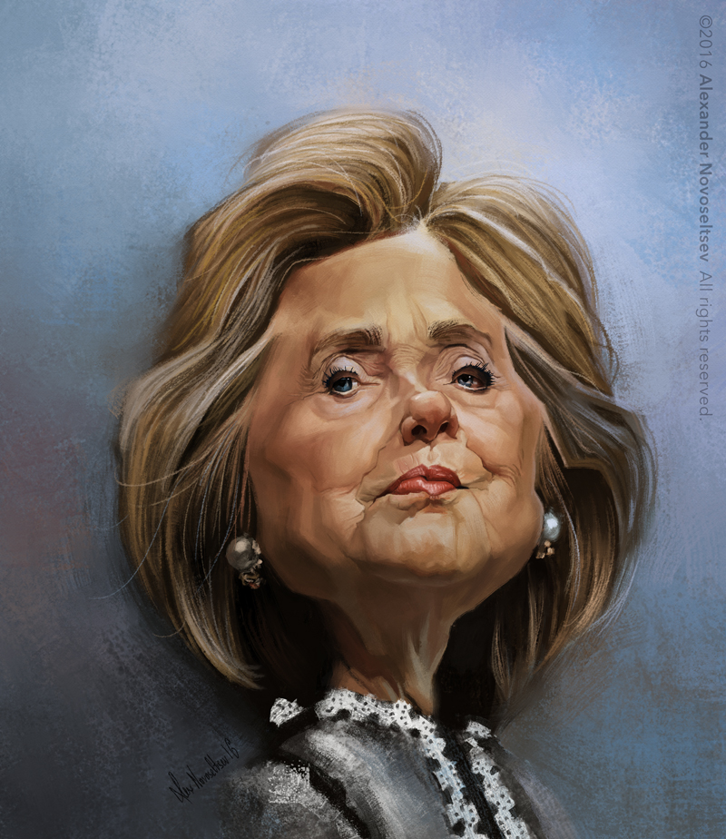 Hillary Clinton by creaturedesign