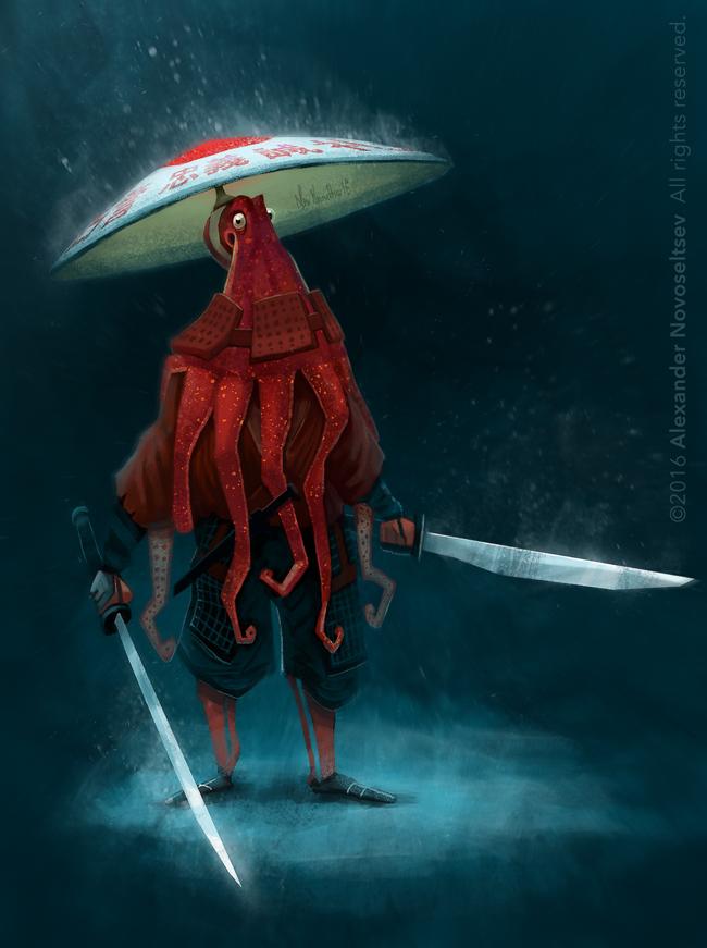 Octopusrai! by creaturedesign