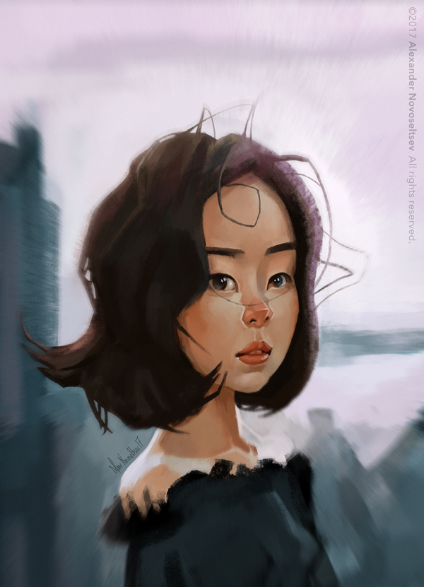 Asian Girl by creaturedesign