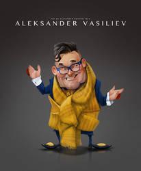 Aleksander Vasiliev by creaturedesign