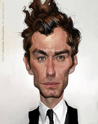 Jude Law by creaturedesign