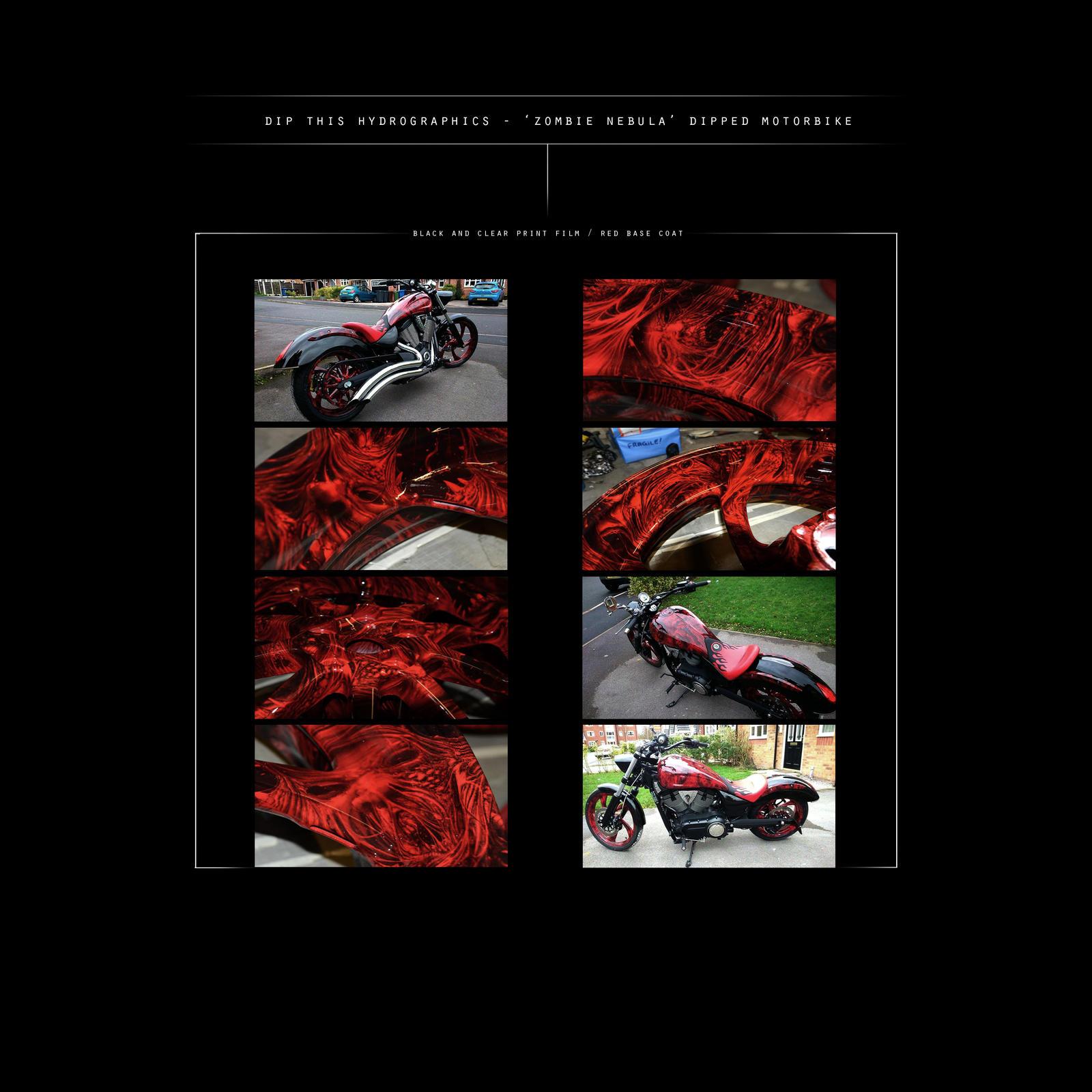 'Zombie Nebula' - 'Dipped' Motor Bike... by PELLOWCONCEPTS ...