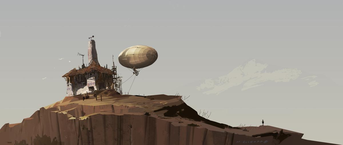 Balloon house by skybolt