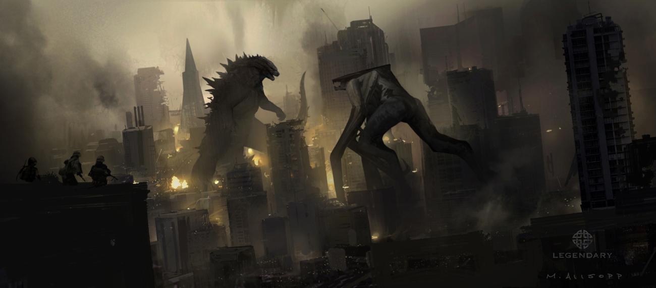 Official Godzilla 2014 Concept Artwork by Matt Allsopp ...