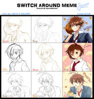 Switcharound meme by shinytaro