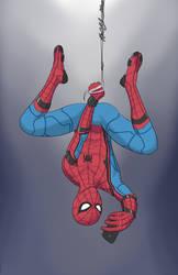 Spider-Man selfie by RoninH5X
