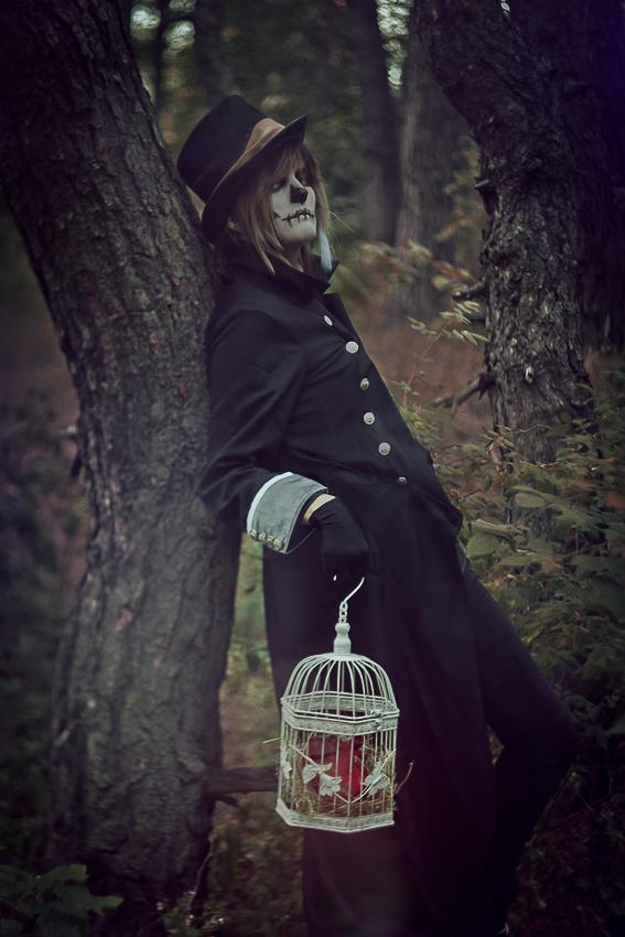 Spooky skully by WiseKumagoro