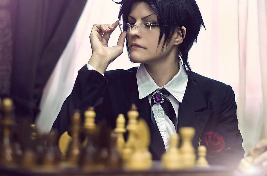 Claude Faustus: tired of morons by WiseKumagoro