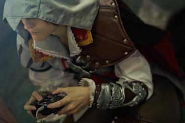 Ezio Auditore: Getting a high score by WiseKumagoro