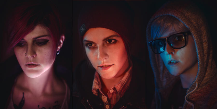 Infamous: Fetch, Delsin, Eugene by WiseKumagoro