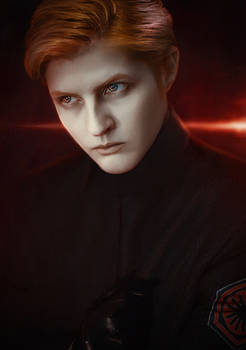 General Hux: Evil space Disney prince