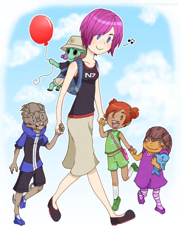 Commander Mommy by Krazy-Chibi
