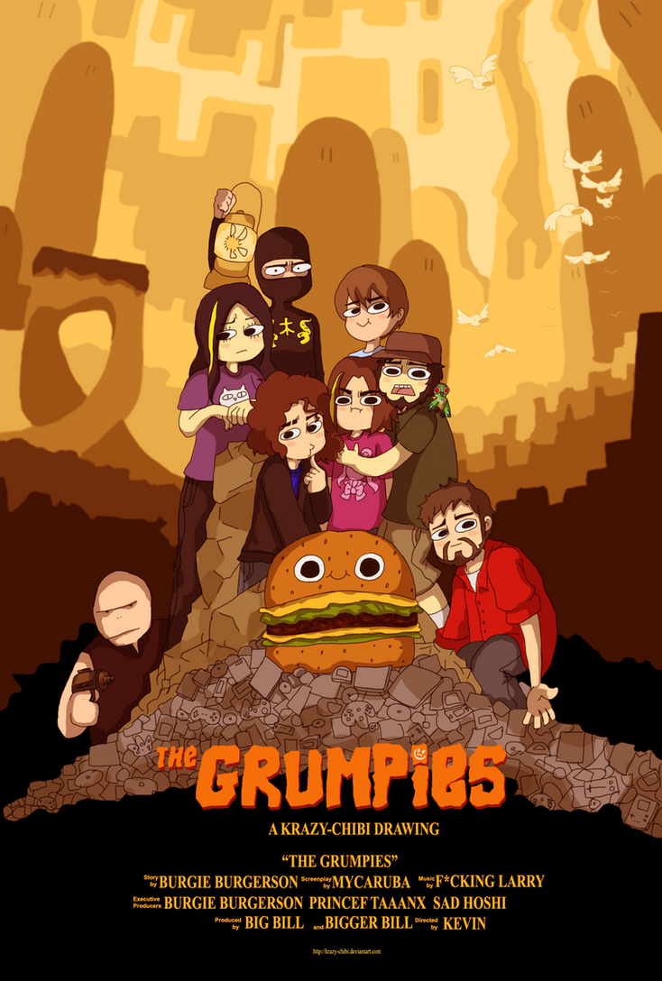 THE GRUMPS 'R' GOOD ENOUGH by Krazy-Chibi