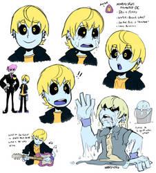 Mystery Skulls OC - again by Krazy-Chibi