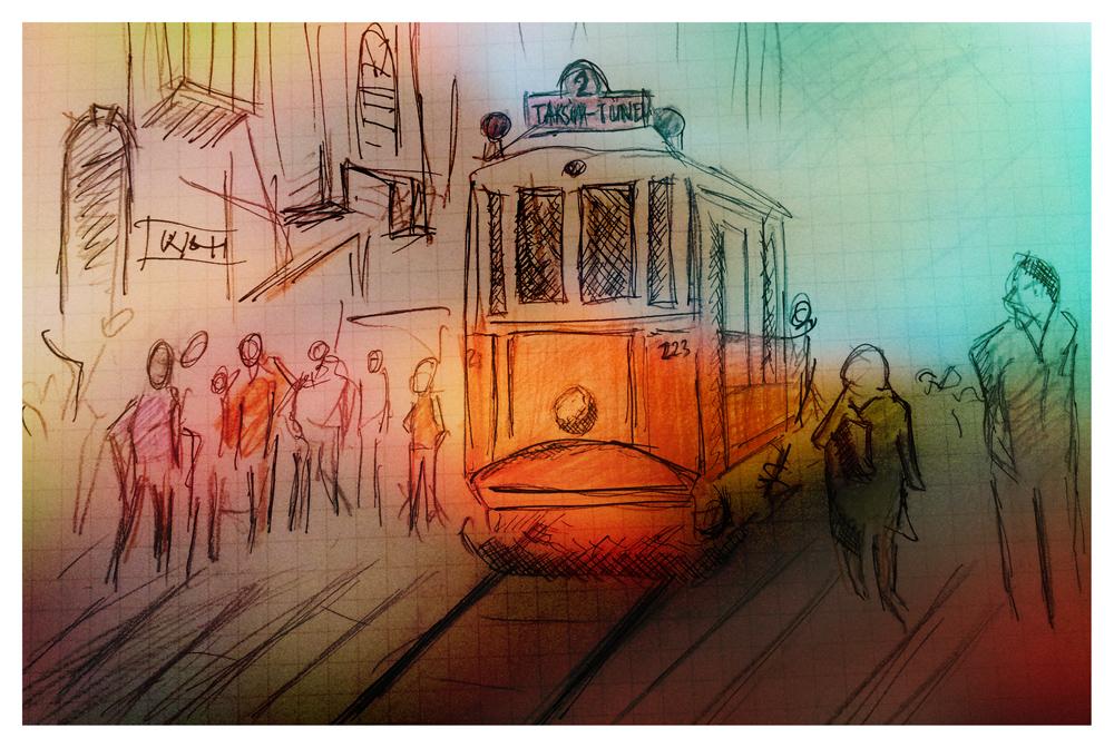 Beyoglu Cizim by ziyade