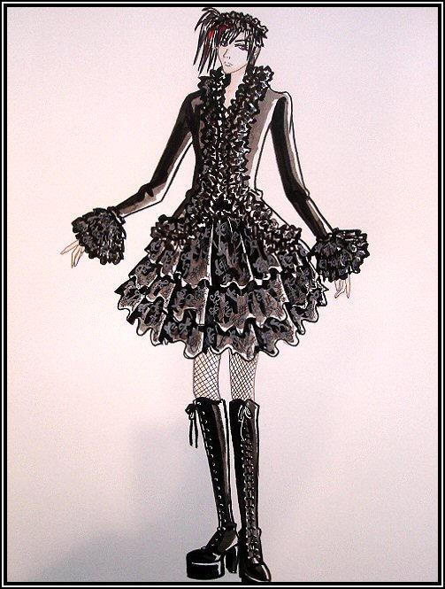 black lace by pandaDOLL