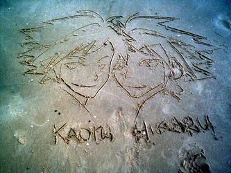 Hikaru Kaoru twins by obliviousOUL