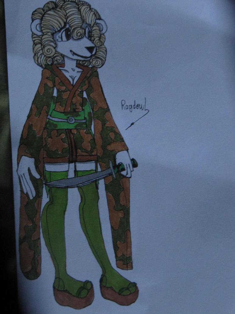 Troisième article : dessins sur un personnage [Grizzali]