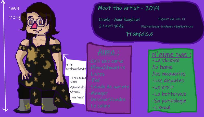 [Meet the artist 2019] Dowly - Anei Ragdowl
