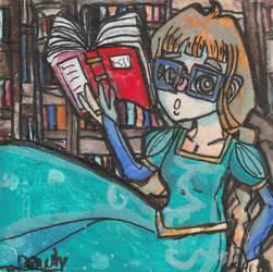 Illustration - Noble librarian