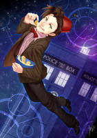 Doctor Who: Fishsticks and Custard in Space by nururuateka