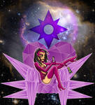 Alphabet Lantern Project - C is for Carol Ferris by AlixxEleveus2Dragon