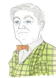 Horace Slughorn by AlixxEleveus2Dragon