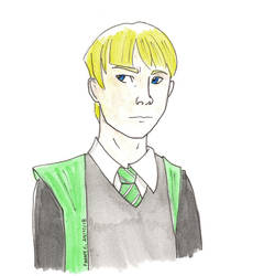 Draco Malfoy by AlixxEleveus2Dragon
