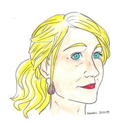 J. K. Rowling by AlixxEleveus2Dragon