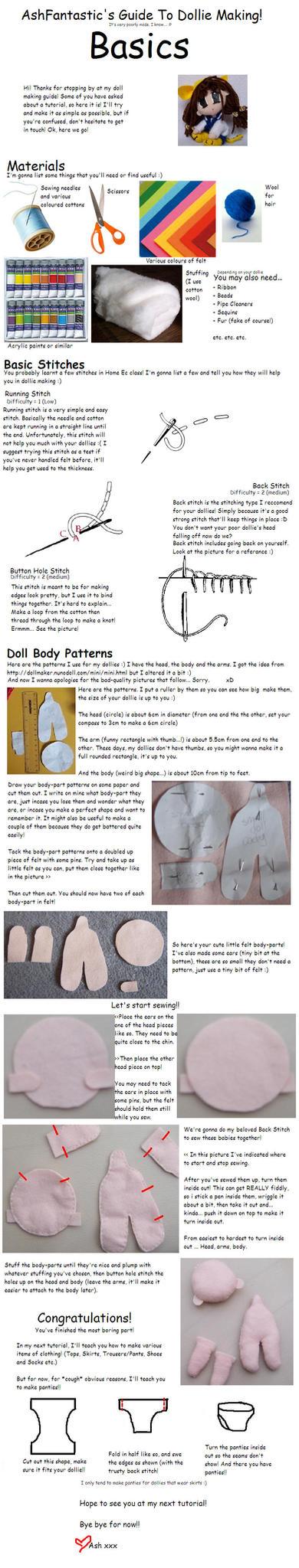 AshFantastic's Doll Tutorial by AshFantastic