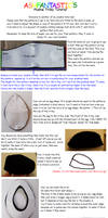 Plushie Trilby Hat tutorial by AshFantastic