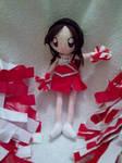 Cheerleader Ash Jointed Doll