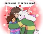 Dreemurr Sibling Hug!