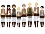Attack On Titan Characters (Exports) (Updated)