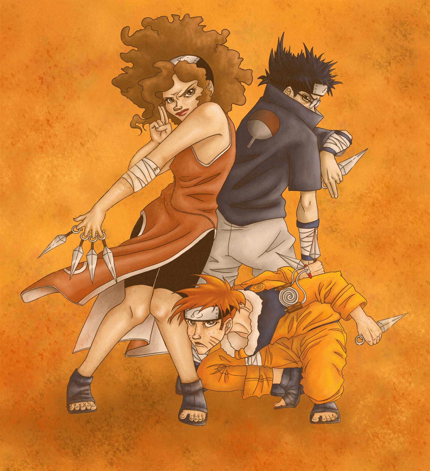 HP-Naruto crossover
