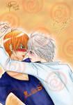 Kyo and Yuki - colored